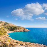Benidorm Alicante cala Ti Ximo beach Spain Royalty Free Stock Photos