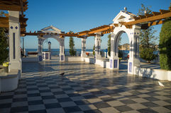 Benidorm Andalusian style park Royalty Free Stock Photography