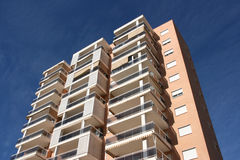 Benidorm apartment building stock photos