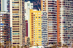 Benidorm Architecture Stock Photos