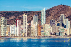 Benidorm Architecture Royalty Free Stock Images