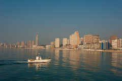 Benidorm bay Royalty Free Stock Images