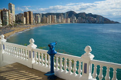 Benidorm bay Royalty Free Stock Photos