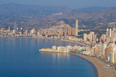 Benidorm bay Royalty Free Stock Photo