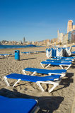 Benidorm bay Stock Photography