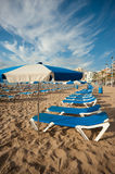 Benidorm beach Stock Image