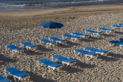 Benidorm beach Royalty Free Stock Photo