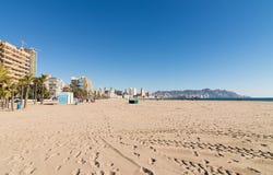Benidorm beach Royalty Free Stock Image
