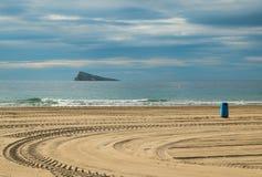 Benidorm beach Stock Images