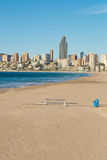 Benidorm beach resort Stock Image