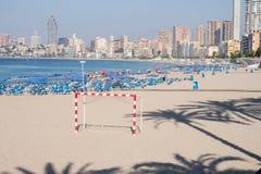 Benidorm beach Stock Photography
