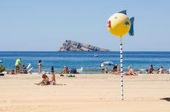 Benidorm beach Stock Photos