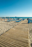 Benidorm beach Royalty Free Stock Images