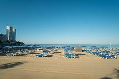Benidorm beach Royalty Free Stock Photo