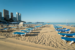 Benidorm beach Royalty Free Stock Photos