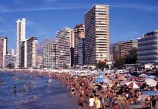 Benidorm beach. Stock Photography