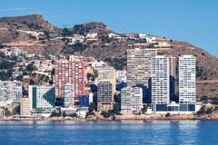 Benidorm Buildings Royalty Free Stock Images