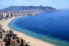 Benidorm cape Royalty Free Stock Photo