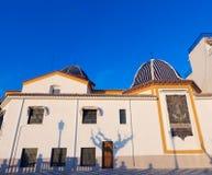 Benidorm church Alicante in balcon mediterraneo. Benidorm San Jaime church Alicante in balcon mediterraneo Spain Valencian Community stock photos
