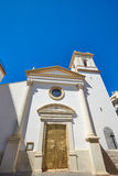 Benidorm church saint Jaime and Ana Spain Royalty Free Stock Image