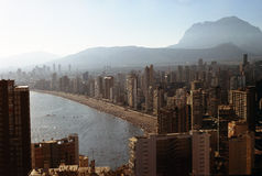 Benidorm City Stock Photography