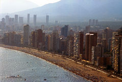 Benidorm City Stock Images