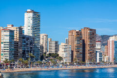 Benidorm City Royalty Free Stock Photos