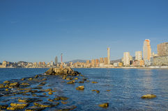 Benidorm city Stock Image