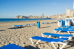 Benidorm coast Royalty Free Stock Photo