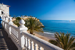 Benidorm coastline Royalty Free Stock Images