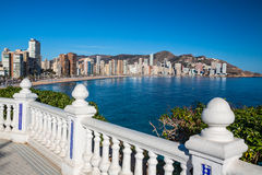 Benidorm Costa Blanca Stock Photography