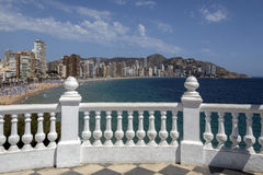 Benidorm - Costa Blanca - Spain Stock Photography