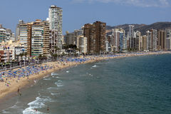 Benidorm - Costa Blanca - Spain Stock Photo