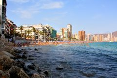 Benidorm, Espanha Fotos de Stock