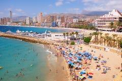 Benidorm, Hiszpania Obraz Royalty Free