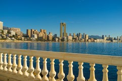 Benidorm for holidays Royalty Free Stock Photography
