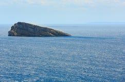 Benidorm Island Spain. Stock Image