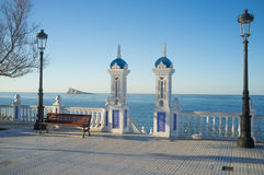 Benidorm landmarks Stock Photography