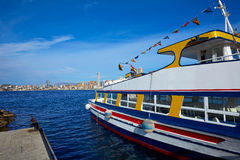 Benidorm Marina port in Alicante of Spain Royalty Free Stock Image