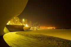 Benidorm at night Royalty Free Stock Image