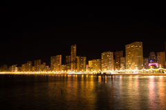 Benidorm at night Stock Images