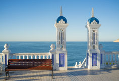 Benidorm old town Royalty Free Stock Images