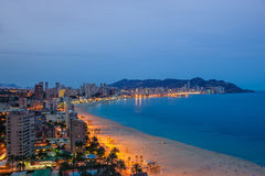 Benidorm Royalty Free Stock Photo