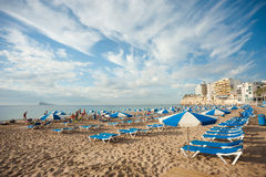 Benidorm resort Royalty Free Stock Photo