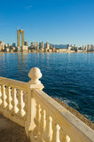 Benidorm resort Royalty Free Stock Image