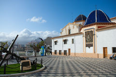 Benidorm San jaime church Alicante Spain Stock Photo