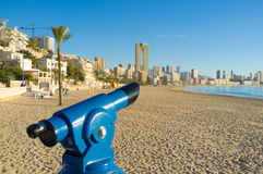 Benidorm shore Royalty Free Stock Photo