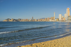 Benidorm skyline Stock Photos