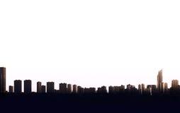 Benidorm skyline Royalty Free Stock Photography