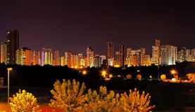 Benidorm Skyline, Spain Royalty Free Stock Photography